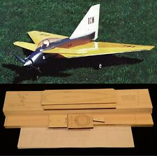 "43"" WS Aerobatic SportDelta Javelin R/c Plane short kit/semi kit and plans"