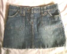 Cotton Blend Machine Washable Mini Skirts for Women