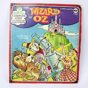 The Wizard of Oz 45RPM Record Extended Play Peter Pan Records F1204