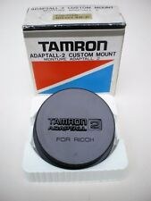 GENUINE TAMRON ADAPTALL 2 CUSTOM MOUNT LENS CAP FOR RICOH  XR-P (cap only)