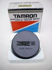 Genuine TAMRON ADAPTALL 2 montaje personalizado Lente Tapa Para RICOH XR-P (Cap solamente)