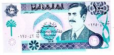 Iraq Iraq Banconota 100 Dinars 1991 P76 SADDAM HUSSEIN NUOVA UNC