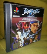 🈁Street Fighter: The Movie® - PS1 COMPLET PAL(FR)*MINT*RARE AKKLAIM CAPCOM🈁™️