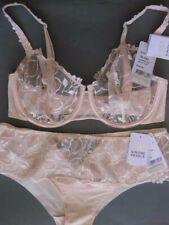 SIMONE PERELE LUMINEUSE 12E / 34E Half Cup Bra Sz 3 Shorty Petale Pink Rrp $155