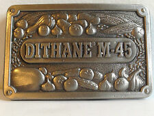 DITHANE M-45 BELT BUCKLE DALLAS TX EXOLEACO FUNGICIDE PROMO of ROHM HAAS