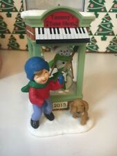 Christmas Windows Tammy's Tune Shop 2015 Hallmark Keepsake Ornament NIB