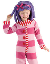 Girls Pink Doll Deluxe Pillow Feather Bed Kids Pajama Halloween Costume Todd