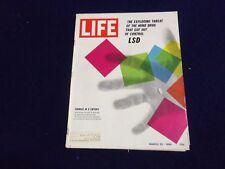 1966 MARCH 25 LIFE MAGAZINE - LSD CAPSULE - L 1523