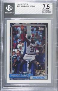 1992-93 Topps Shaquille O'Neal #362 BGS 7.5 Rookie HOF