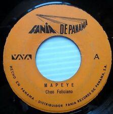 CHEO FELICIANO Mapeye / Pa' La Gente Panameña ORIG.Pressing PANAMA Fania 45 #112