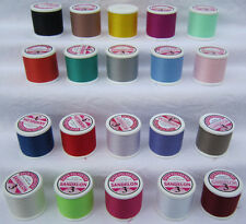 High Quality 20 Spun Polyester Sewing Thread Reels *Made in England*