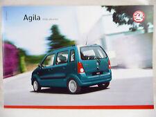 Vauxhall - Agila - A5 Brochure 2007 Edition 2 New/Old Stock