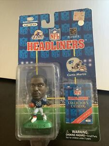 1997 NFL Headliners CURTIS MARTIN New England Patriots Action Figure MIP
