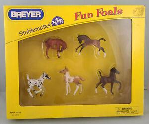 Breyer 5972 Stablemates 5 Piece Foals Set Model Horse - NIB HANDPICKED