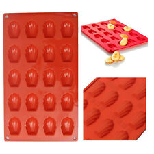 2017 Mini Madeleine Shell Cake Pan Silicone Mold Cookies Baking Mould Tools
