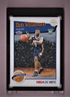 2019/20 Panini NBA Hoops ZION WILLIAMSON WINTER TRIBUTE Rookie Card Mint Black