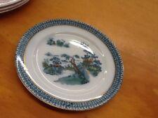 Pekin-Salad Plate-8 In Round-Oriental Motif-Royal-Wood & Sons-England-Porcelain-