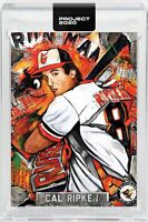 Topps PROJECT 2020 Card Cal Ripken Jr #205 by Andrew Thiele RC W/Box