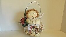 Vintage Stuffed Little Angle Wall Hanging Cl7-10