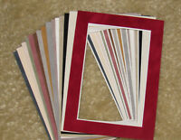Pre Cut SUEDE Texture Picture Mat Board 8x10 Photo Paintings Art Fit 11x14 Frame