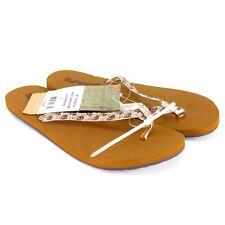 Reef Womens Sandals Size 5 Twisted Stars Tan Champagne Flip Flops RF-001363TAH