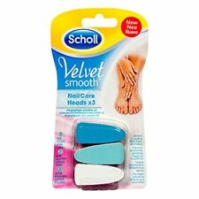 Scholl Velvet Smooth Electronic Nail Care System Refill Heads