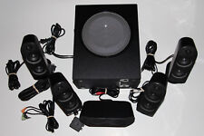 Logitech X-530 5.1 Channel PC Speaker Surround Sound System Subwoofer Gaming