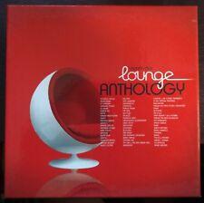 Lounge Anthology - Relaxing Music BOX 4 CD 2009 Wagram Music – 3210792