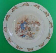 Royal Doulton Bunnykins Tea Plate - Signed Barbara Vernon