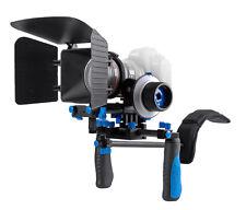 Ayex DSLR Rig Schulterstativ Follow Focus Matte Box für Canon EOS 5D Mark II, 7D