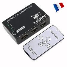 TBS2083 Commutateur Switch HDMI 5*1 +Télécommande -  5 entrées 1 Sortie FullHD