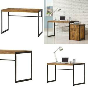"Coaster Company Writing Desk,  Clearance: 27.5""30""H x 46.5""W x 22""D"