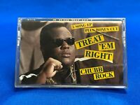 Chubb Rock ‎– Treat 'Em Right Cassette Tape EP 6 Tracks 1990 Hip Hop SEALED OOP