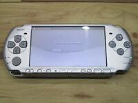 Sony PSP 3000 Console Mystic Silver Japan o904