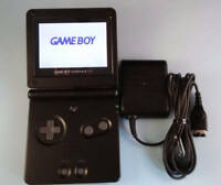 MINT NEW Nintendo Game Boy Advance SP - Black - Handheld System AGS-101 BRIGHTER