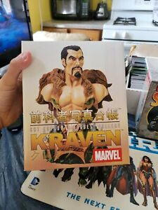 Kraven Mini Bust (Spider-Man) Art Asylum Rogue's Gallery Collection Diamond...