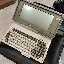 Bondwell B200 Vintage Laptop. LCD, dual diskdrive,PSU,original bag.Nice and Rare