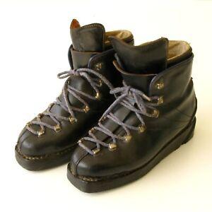 Chaussures de ski ancienne cuir double laçage - LE NORVEGIEN T35 - Haut de gamme