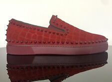 Christian Louboutin Pik Boat Dundee Spike EU 41 UK 7 US 8
