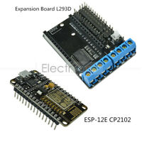 CP2102 ESP8266 Development Board &L293D ESP-12E Wifi Motor Drive for NodeMcu Lua