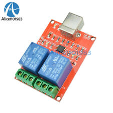 5V USB Relay 2 Channel Programmable Computer Control For Smart Home Control