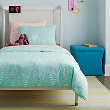 NIP Dwell Studio Dwellstudio Maya Turquoise Twin Duvet & Sham Set $149
