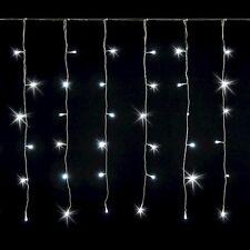192 LED 2x1 mt Tenda luminosa natale Addobbo serie luci natalizie luce bianco