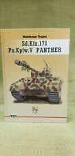 Waldemar Trojca Sd. Kfz. 171 Pz.Kpfw. V Panther HB Model Hobby Book Rare Book