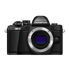 Olympus OM-D E-M10 Mark II Mirrorless Digital Camera  Only Body - Black