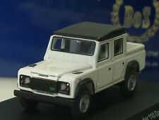 BOS Land Rover Defender 110 Doppelkabine, weiß  - 87096 - 1/87