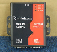 BrainBoxes US-25701 - USB To Serial 2 Port  RS232 To USB Adapter