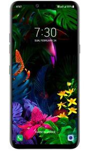 LG G8 ThinQ LMG820 GSM Unlocked Black 128GB OLED Display & Speaker - Very Good