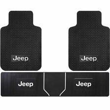 Jeep Classic License Front Runner Heavy Duty Rubber Floor Mats Universal