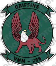 STICKER USMC VMM 266 Griffins   ooo   USMC Lisc No 20187